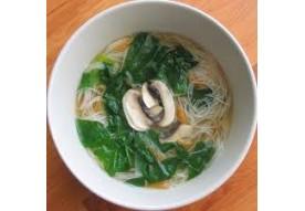 44 Soupe de vermicelles de riz aux légumes